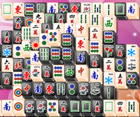 Black and White Mahjong
